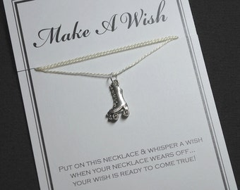 Rollerskate Wish Necklace - Buy 3 Items, Get 1 Free