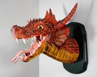 Fire Dragon trophée Mont Sculpture