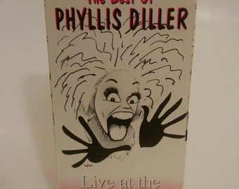 Vintage Phyllis Diller Live at the Improv VHS Comedy Video Movie 1993