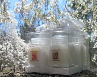 WEDDING GIFT CUBE (4 soy jar candles)