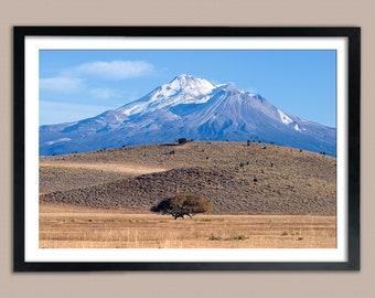 Mount Shasta in early Autumn