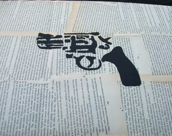FREE - Revolver on book pages