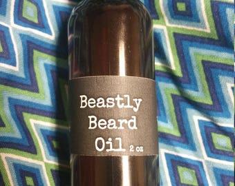 Beastly Beard Oil