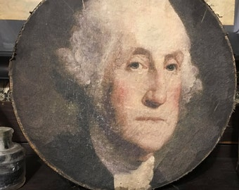 George Washington Fabric Box