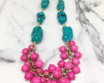 Mallorca Island statement necklace