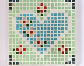 Ditsy Heart Mosaic Kit by Craft It With Us