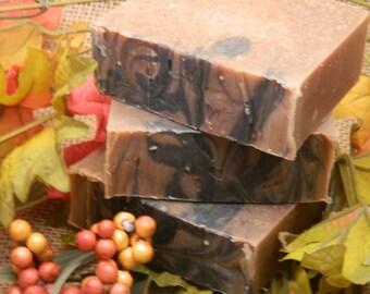Pumpkin Peppercorn Goats Milk Soap