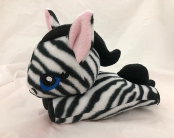 Zebra Pony Plush