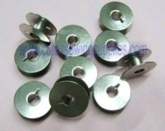 10 Bobbins Juki LZ-271, LZ-291, LZ-391 Sewing Machines #B9117-039-000 Original