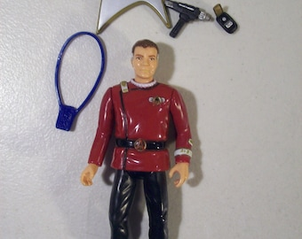 Vintage Star Trek Admiral James T. Kirk Action Figure, Playmates 1994