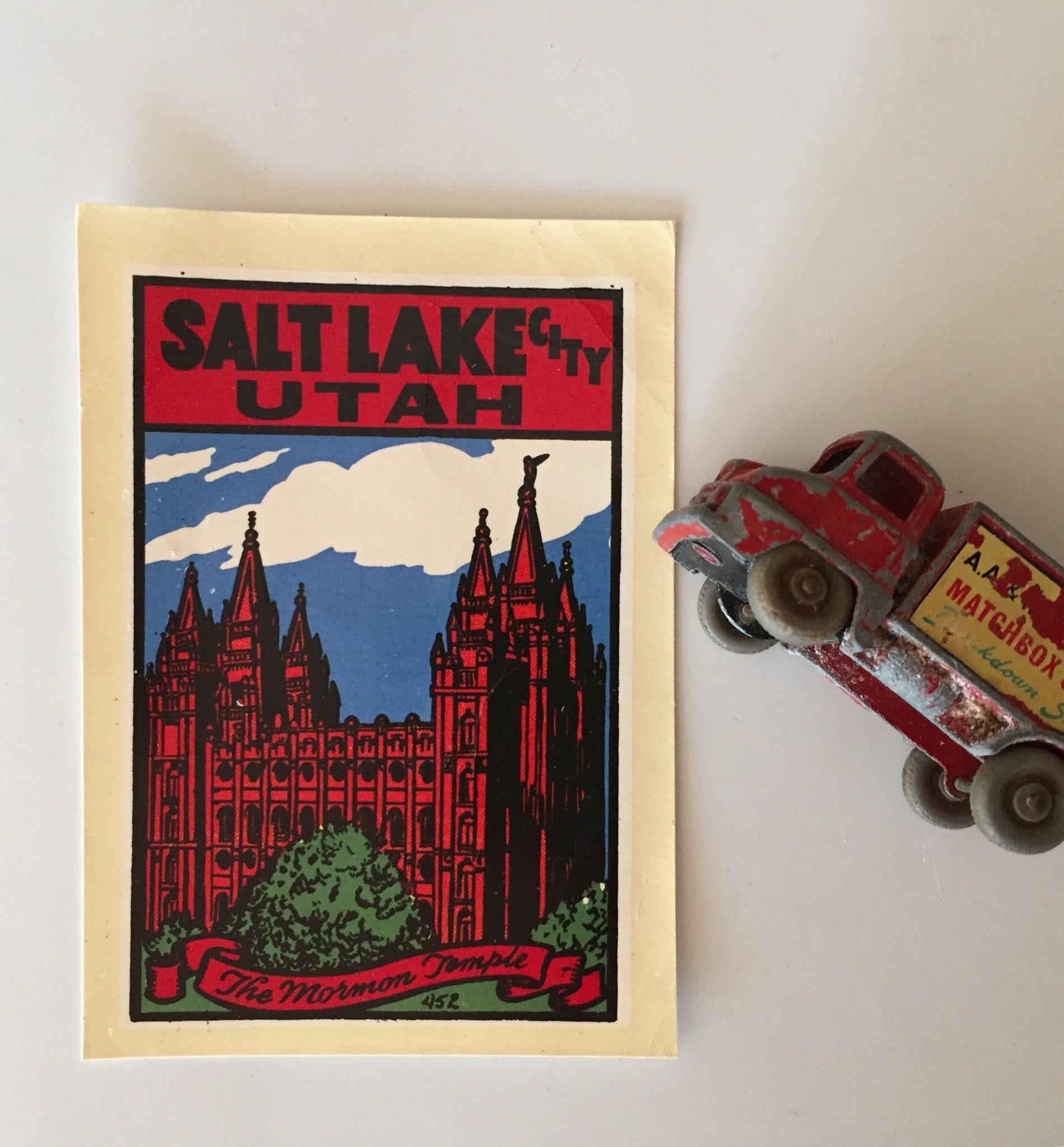 Vintage salt lake city decal zoom kristyandbryce Image collections