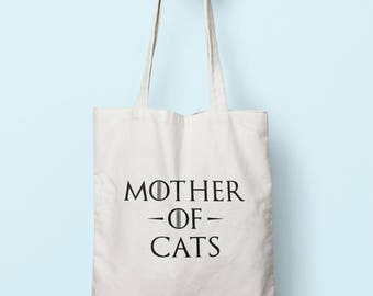 Mother Of Cats Tote Bag Long Handles TB0977