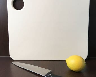 Corian Chopping Board Off White Large, Kitchenware, Cookware, Cutting Board, Housewarming, Moving In, Gift, Present