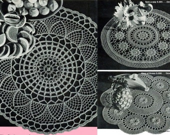 Doilies To Crochet,  EBook. PDF Instant Download.