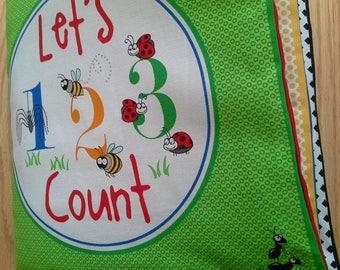 Cloth Book – Let's Count -  Item BK150215
