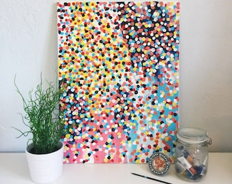Bold Speckled Canvas