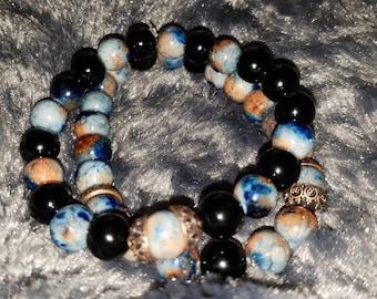 Mountain Jade Bracelet Set