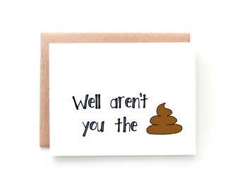Congratulations Card - Funny Congratulations Card - Job Promotion - New Job - by Yellow Daisy Paper Co