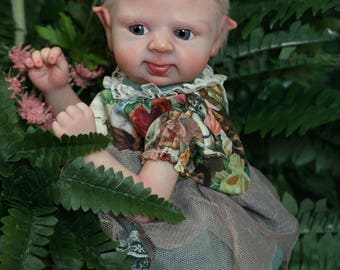 Puck Reborn Elf Doll kit by Lenka Polacek Hucinova >>kit only<< >>unpainted<<