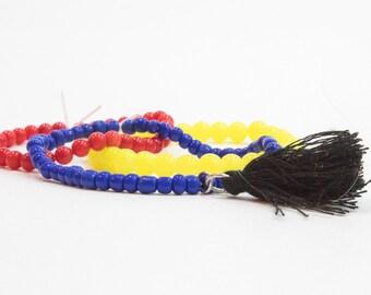 Womens Disney Bracelet/disney jewelry/snow white/beaded bracelets/glass bead jewelry