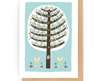 Sing A Song Of Joy - Greeting Card (2-25C)
