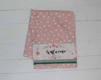 Welcome- Farmhouse Dish Towel