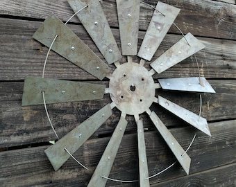 Windmill, Metal Windmill, Rustic Windmill, Windmill Blades, Vintage Windmill, Garden Windmill, Metal Windmill Wall Decor, Windmill Decor