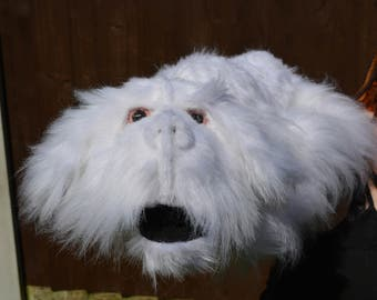 Hand Puppet Falcor Plushie (Never Ending Story)