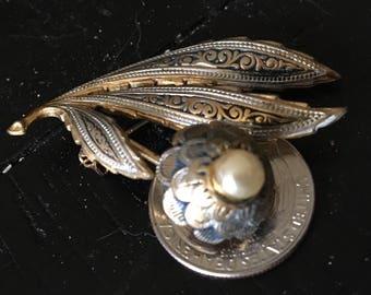 Spanish Ornate Brooch / Pin
