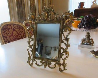 NEW YORK ORNATE Frame with Mirror