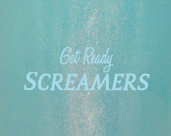 """Get Ready Screamers glitter nail polish 15 mL (.5 oz) from the """"Keys to The Kingdom"""" Collection (March)"""