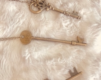 Vintage Key Necklace