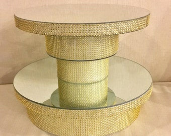 """The Hayford Cupcake/Cake Display 16"""" Cupcake Stand with 14"""" Cake Top"""