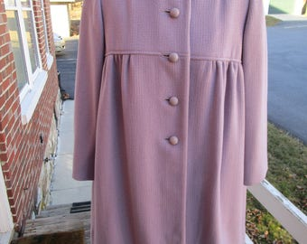 Young Girls Lavender Coat by Gastwirth