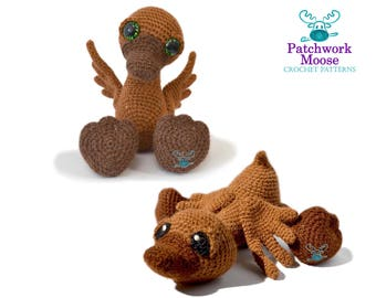 Duck Amigurumi Crochet Pattern PDF Instant Download - Olivia