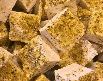 Rosewater and Pistachio Gourmet Marshmallows