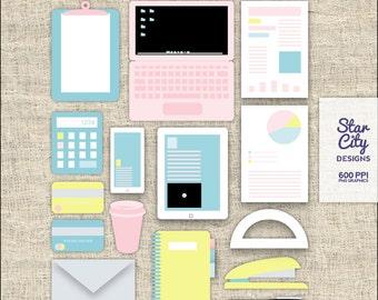 Business Clip Art for scrapbooking, Clipart, Clip Art, Instant Download, vector art, vector graphics