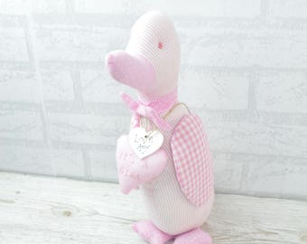 Captivating Personalised Baby Door Stop Itu0027s A Girl Duck Pink Nursery Shower 33cm  FD0321A/C