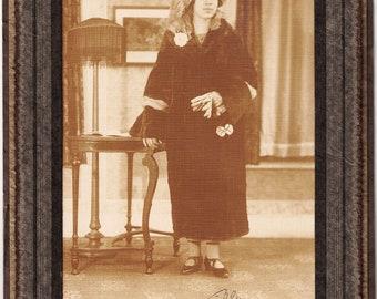 "Vintage Photograph: ""Tilly 1926"" By Lorence Buffalo NY"