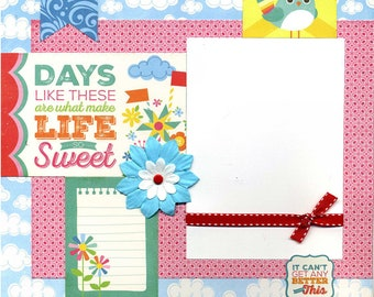 Days Like These - 12x12 Premade Scrapbook Page