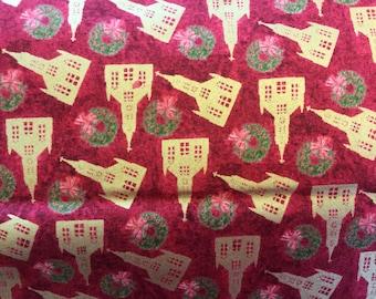 Silent Night fabric by Ro Gregg for Paintbrush Fabrics