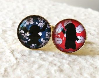 Lilo and Stitch Cufflinks - Cuff Link set - Custom Disney Jewelry and Accessories - Disney Wedding