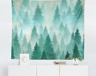 Forest Tapestry | Forest Wall Tapestry | Forest Wall Décor | Forest Gift | Forest Wall Art | Forest Art | Forest Décor