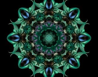 Sacred Aspects - Divine Feminine - Flower Mandala Art