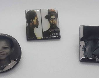 Malcolm X, From Boy to Man Pins