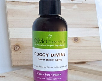 DOGGY DIVINE Rover Relief Spray Itch, Odor Relief, Anxiety Relief   Itching, Odors, Anxiety. Chemical Free