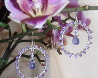 Lovely Lilac Earrings