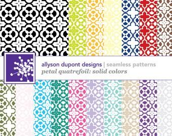 Digital Pattern Pack - Petal Quatrefoil (Illustrator CS3)
