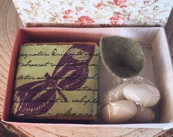Vintage Favor with soap