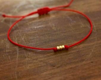 Red String Bracelet - Friendship Bracelet - Gifts for Friends - Best Friend Bracelet - Gift for Women - Best Friend Gift - Red Bracelet